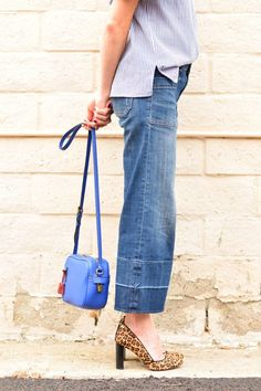 How to wear cropped flare jeans Making Cropped Flare Jeans ...