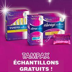 Échantillon de produits Tampax. http://rienquedugratuit.ca/echantillon-gratuit/echantillon-de-produits-tampax/