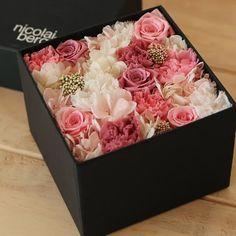 (nicolai bergmann Bergmann) original preserved flower box (Japanese spring )