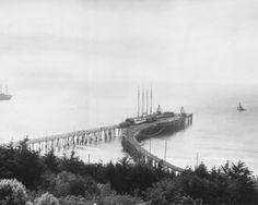 A early 1900's Redondo Beach California Pier. Unknown Photographer.