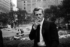 Marcello Mastroianni, New York, 1962 | photos by Steve Schapiro