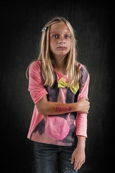 Powerful Photos Illustrate the Real Damage Done by Verbal Abuse