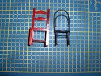 Miniaturas Casa de Muñecas: Sillas tipo Thonet