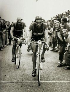 Fausto  Gino, Giro D'Italia, 1949!  #vintage #vintagebicycles #bicycles