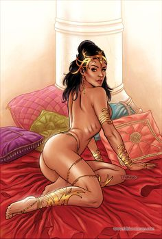 Dejah Thoris 20 Cover Colors by FabianoNeves