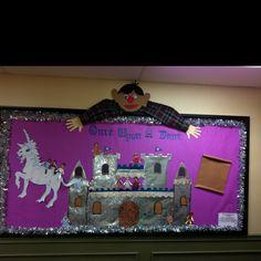 Once Upon A Time Fairy Tale Princess Prince Castles Bulletin Board Fairy Tales Fairy