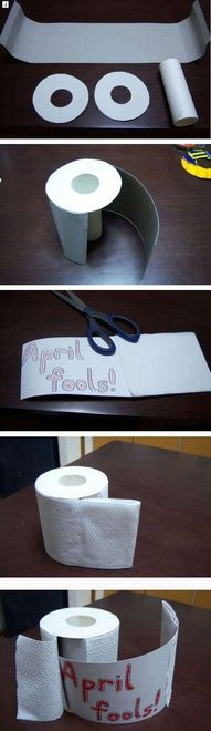The worst April Fool's day joke ever! If anyone tried this one on me, they would be granted a slow and painful death.