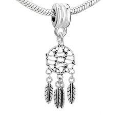 Dream Catcher Charms Fit European Charms Beads Bracelets