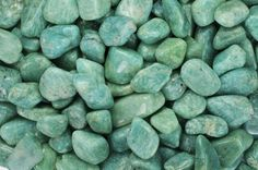 Amazonite- fills the heart with determination and courage to do good in the world. Types Of Gems, Tumbled Stones, Natural Crystals, Im Not Perfect, Abundance, Communication, Calcium Deficiency, Personal Boundaries, Thyroid Gland
