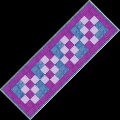 Free Table Runner Patterns | ... funtabulous, quick and easy table runner for yourself or as a gift