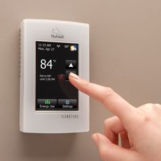 Nest's combination of sensors, algorithms and learning will prompt the Nuheat Signature program to react to home occupancy. Instead of strictly following the programmed schedule, the floor heat will adapt automatically if you arrive or leave home earlier or later than scheduled.  When Nuheat Signature works with Nest, homeowners can enjoy the added comfort and energy savings with their floor heat