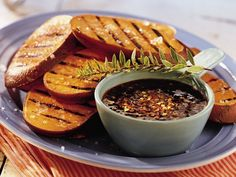 Grilled Sweet Potatoes with Chipotle-Honey Sauce Recipe from Betty Crocker