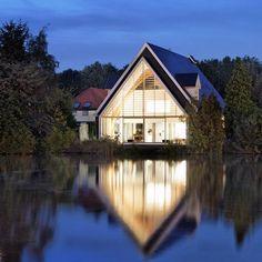 CONVERTED CHURCH: A House in a Church by Ruud Visser Architects. 9/22/2012 via @Dezeen magazine