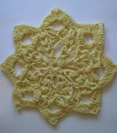 Free Crochet Pattern: Blossom Doily by Erin at crochetspot