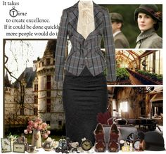 """""""Neo-victorian style"""" by miumiu ❤ liked on Polyvore"""