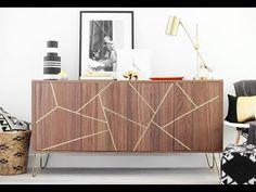 Mid Century Modern IKEA Hack Sideboard — Kristi Murphy   DIY Ideas
