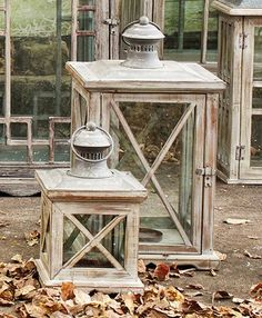 Chelsfield Lanterns - Set of 2 - Candlesticks & Candleholders - Home Accents - Home Decor | HomeDecorators.com $62