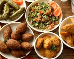 Lebanese Food Buffet, Fabulous Family Favorites, Yummy !!