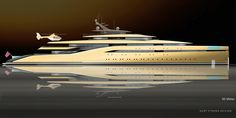 High performance luxury super yacht with matching supercar. As boat accessories go, a bespoke supercar is probably the most extravagant Yacht Design, Boat Design, Expedition Yachts, Classic Yachts, Float Your Boat, Boat Accessories, Yacht Boat, Super Yachts, Luxury Yachts