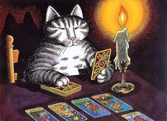 Кошачий календарь / Bill Kliban