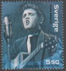 Sweden Stamp - Elvis Presley
