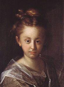 Maria Maximiliana. Figlia del pittore. Praga. Narodni  Galerie
