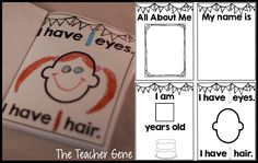Classroom Freebies Too: All About Me Freebie. Great for Kinders!