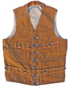 Range Vest Brown