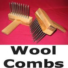 "Download Wool Comb Plans 11"" x 17"". (pattern is from Minnetonka Works)"
