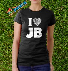 New Womens Funny I LOVE Justin Bieber Gomez Fever T Shirt Concert  Tee