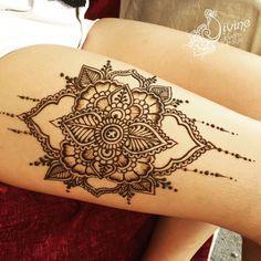 34 Best Henna Tattoo Thigh Images Henna Tattoos Hennas Henna