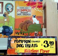 Trader Joe's Pumpkin Flavored Dog Treats 16 ounce box $3.49