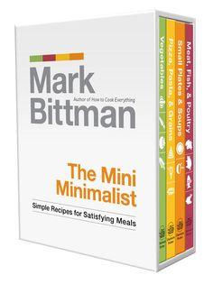 """Little Obsessed - Mark Bittman's """"The Mini Minimalist"""", 4-Volume Set, $19.95 (http://www.littleobsessed.com/mark-bittmans-the-mini-minimalist-4-volume-set/)"""