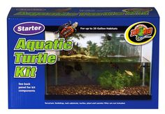 Zoo Med Aquatic Turtle Kit (up to 20 Gallons)
