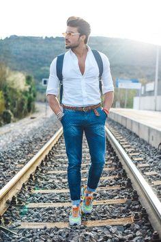 Liam in Technicolor - MDV Style | Street Style Fashion Blogger