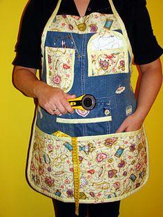 Patchwork Isabel - Coser y Crear: Mandil de Costura en patchwork