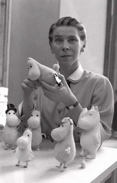 Tove Jansson August 1914 – 27 June was a Swedish-speaking Finnish novelist, painter, illustrator and comic strip author. Jansson is best known as the author of the Moomin books for children.