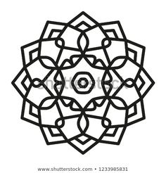 Find Simple Mandala Shape Coloring Vector Mandala stock images in HD and millions of other royalty-free stock photos, illustrations and vectors in the Shutterstock collection. Thousands of new, high-quality pictures added every day. Simple Mandala, Dot Art Painting, Mandala Coloring Pages, Panel Art, Art Drawings, Art Ideas, Oriental, Dots, Paper Crafts