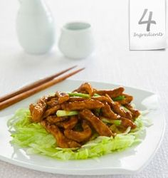 Thai Beef Stir-Fry, spring onions: A delicious recipe by 4 Ingredients Kim McCosker. Thai Beef Stir Fry, Lactose Free Recipes, Gluten Free, Beef Recipes, Cooking Recipes, Dinner On A Budget, Budget Dinners, 4 Ingredient Recipes, Beef Strips