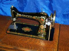 SINGER TREADLE 66 REDEYE SEWING MACHINE. Seller of parts and some tutorials