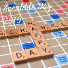 Indy and Cleo: National Scrabble Day 2015 #scrabble #scrabbleday