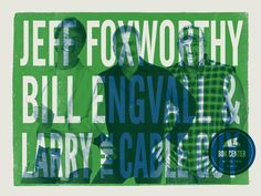 BOK Center: Jeff Foxworthy Poster