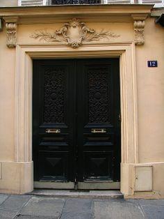 Door, Rue allent, Paris | Flickr: Intercambio de fotos