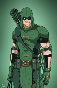 Green Arrow (Earth-27) commission by phil-cho.deviantart.com on @DeviantArt
