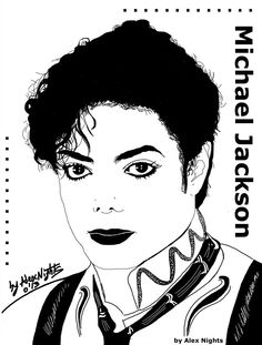 ★ Michael Jackson ★ (Sketch on Ipad) by Alex Nights (c) 2013