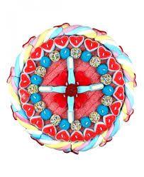 Resultado de imagen de tartas de chuches redondas