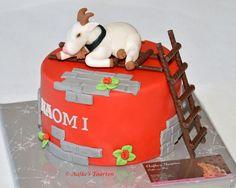 Laddergoat cake