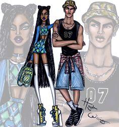 'School Style' by Hayden Williams: Look 7 & 8
