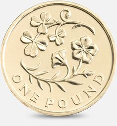 A number of rare coins are fetching high prices online as the round coinage is phased out from March. The rarest coin currently in circulation is the Edinburgh Bullion Coins, Gold Bullion, One Pound Coin, Coin Design, Coin Worth, Silver Gifts, Leaf Art, Rare Coins, Coin Collecting