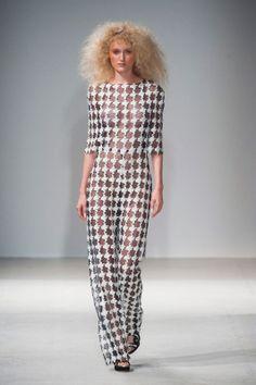 Gosia Baczyńska wiosna-lato 2014, Paris Fashion Week